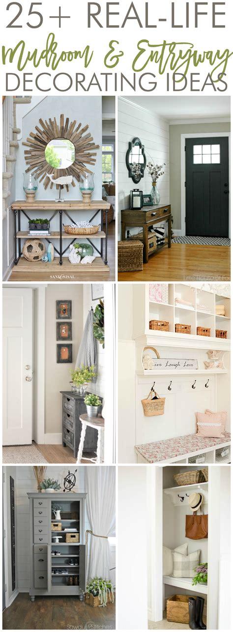 home entryway decorating ideas 25 real mudroom and entryway decorating ideas by