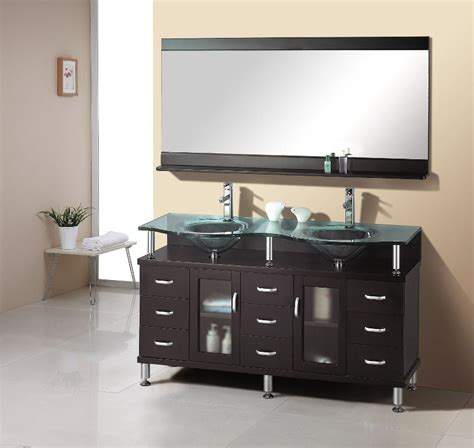 double sink bathroom vanities   qnud