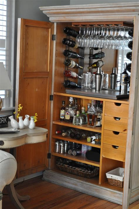 Armoire Bar Cabinet by The Cow Spot Bar