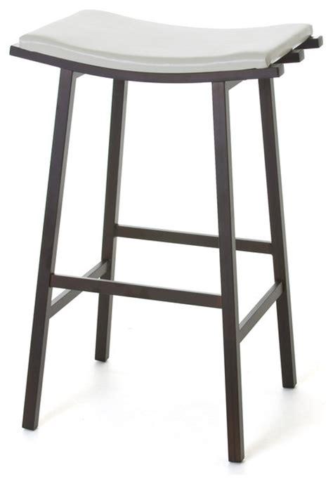 non swivel bar stools amisco nathan non swivel backless stool 40033
