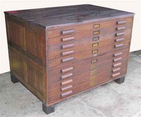 map drawer cabinet wood flat file cabinet antique wood art plan map blueprint