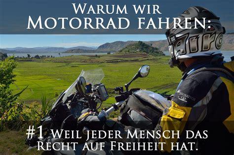 Motorradtouren Jobs by Warum Wir Motorrad Fahren