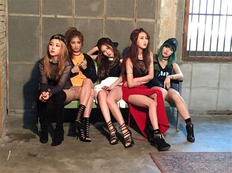 4minute drive fans crazy with sexy ceci pictorial 17 best images about 4minute 포미닛 on pinterest hot