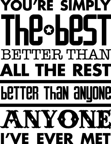 your simply the best you are the best papel lenguasalacarta co