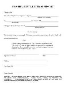 loan gift letter template gift letter fha fill printable fillable blank