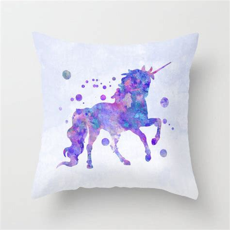 unicorn home decor home decor girls room decor unicorn pillow case nursery