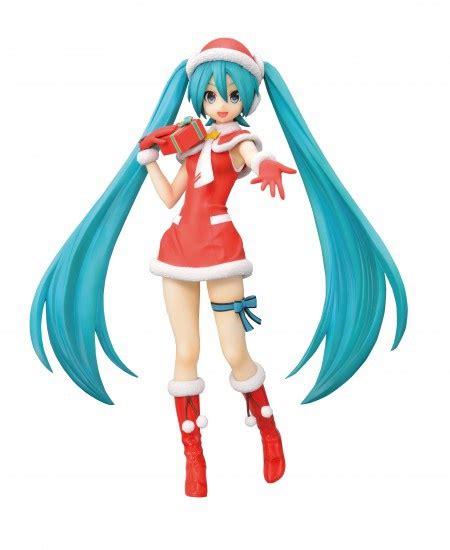 Sega Spm Figure Hatsune Miku Pieretta Ver Vocaloid Project spm figure hatsune miku santa ver my anime shelf