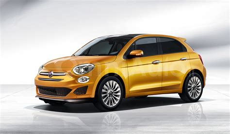 nuova fiat 500 5 porte fiat 500 five door rendered as a replacement for the punto
