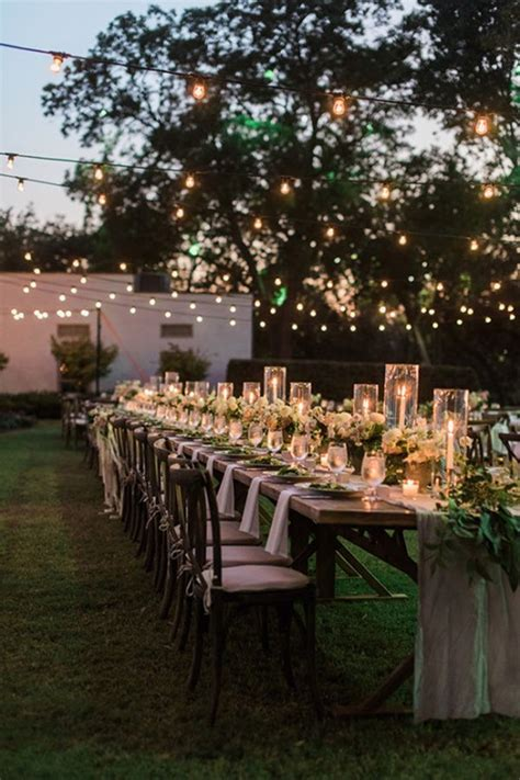 Backyard Engagement 25 Best Ideas About Intimate Wedding Reception On