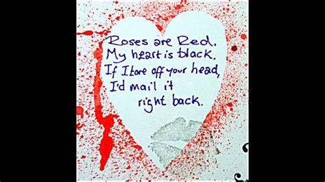 creepy valentines poems creepypasta s day card