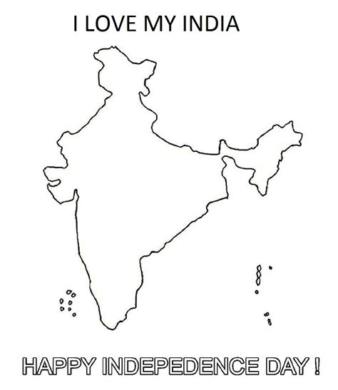 Indian Independence Day Coloring Pages by Happy Independence Day India Coloring Pages Coloring