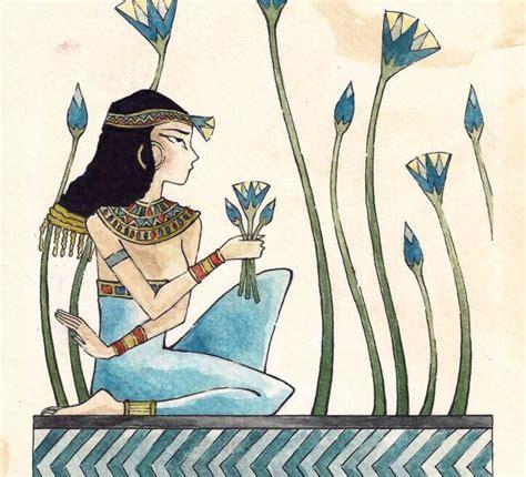 egyptian flower tattoo lotus flower collecting lotus
