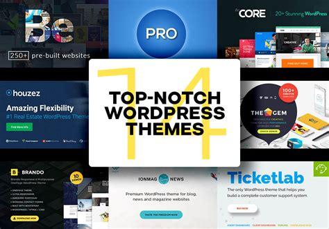wordpress themes to buy 14 top notch multipurpose wordpress themes to buy