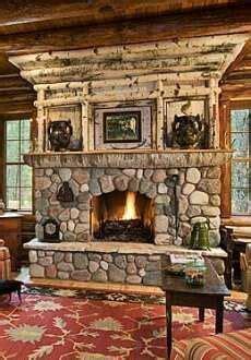 fireplace rustic stone fireplace stone fireplace