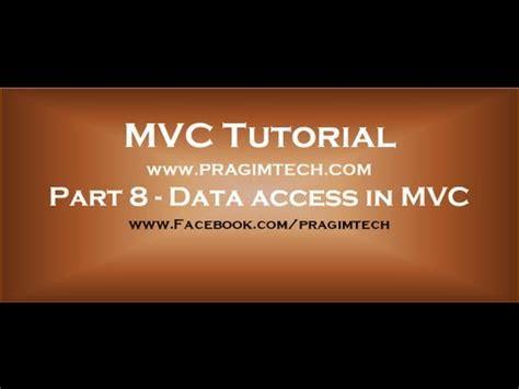 mvc video tutorial venkat part 8 data access in mvc using entity framework