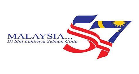 logo hari kebangsaan counting down happy independence day malaysia merdeka