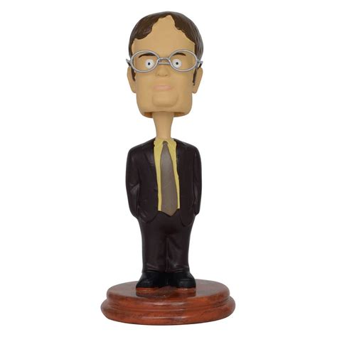 bobblehead the office the office dwight schrute bobblehead the office tv