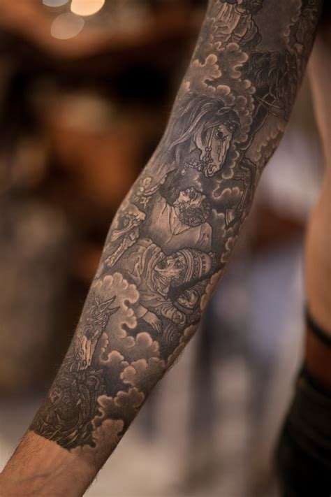isaiah thomas tattoos four horsemen of the apocalypse sleeve