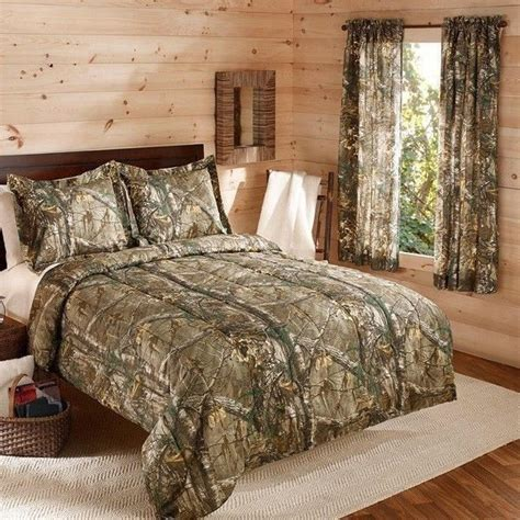 Camouflage Realtree Bedding Comforter Set W Shams Camo Realtree Camo Bedding