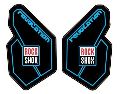 Rock Shox Pike Aufkleber Set by Rock Shox Revelation 2012 Decal Sticker Aufkleber Set