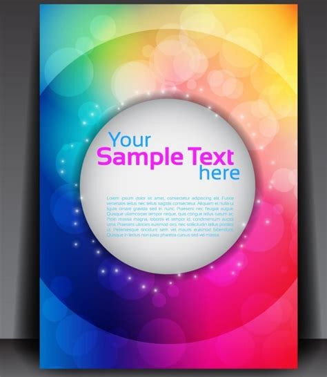 flyer backgrounds templates free free fantastic magazine flyer template with colorful