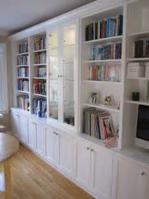 Custom Bookshelves Toronto White Bookcases With Built In Desk Traditional Kitchen
