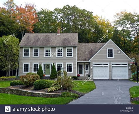 Cape Cod House by Cape Cod Style House In New Gloucester Me Usa Stock Photo