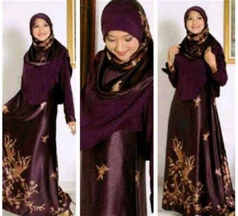 foto baju batik ber hijab tips memilih model baju pesta muslim info tren baju