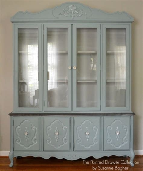 painted china cabinet before and after the vintage bassett china cabinet part five before and