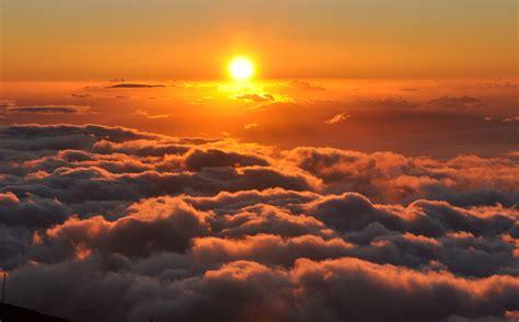Sun Set haleakala sunset ted flickr