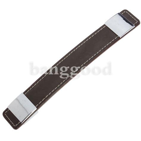 leather door knob kitchen door pull handle knob 96 192mm