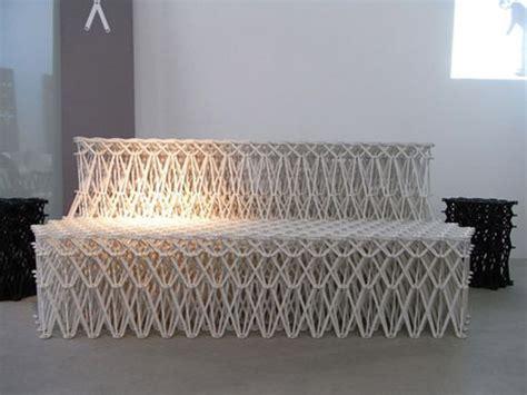 recycling sofas yuya ushida makes collapsible xxxx sofa using 8 000
