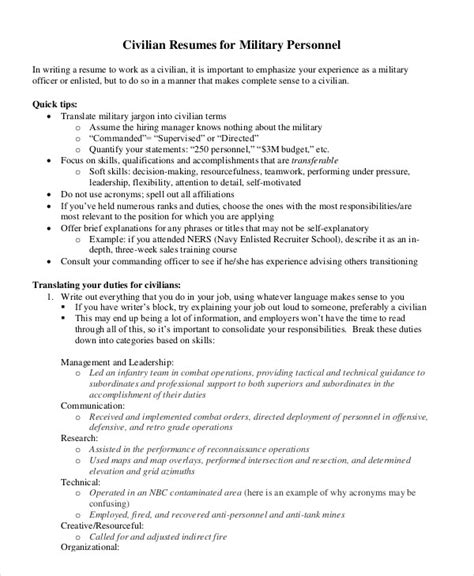 dod resume format unique navy resume 8 free word pdf documents