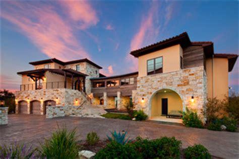 hacienda stil home pläne modern mediterranean exterior by