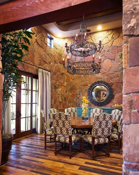 In Room Dining Scottsdale Scottsdale Rustic Dining Room By Paradigm