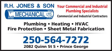 Nelson And Sons Plumbing by K N Mechanical Inc Prince George Bc 2082 Quinn St S Canpages