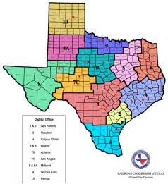 and gas division district boundary map ranches