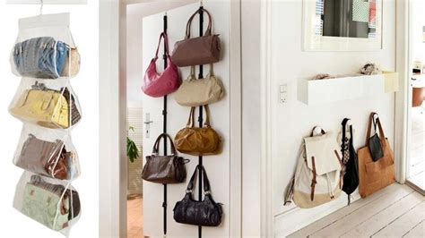 la casa de los bolsos ideas para almacenar los bolsos en casa flota