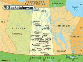 saskatchewan political map by maps from maps
