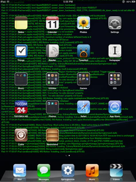 wallpaper for jailbroken iphone make syslog as your iphone s wallpaper with wallpaperlog