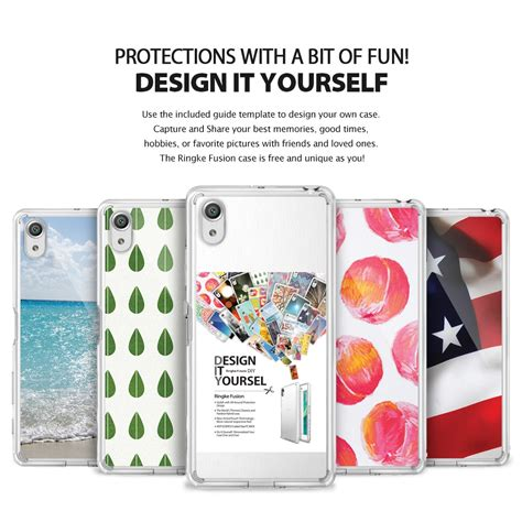 Hardcase Xperia X Performance Cover Original Soft Rearth Ringke Fusion ringke fusion xperia x performance clear in pakistan