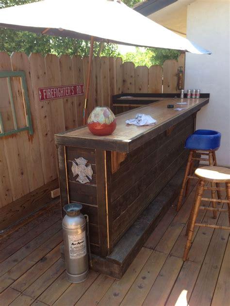 outdoor deck bar designs video
