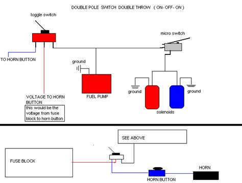 motorcycle nitrous horn wiring diagram