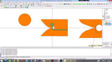 tutorial antenna web design ie3d tutorial 4 vivaldi antenna design youtube