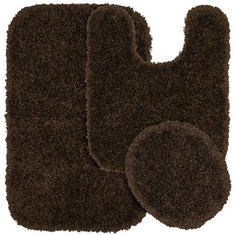 Home Depot Coupons For Serendipity Chocolate Brown 21 In Chocolate Brown Bathroom Rugs