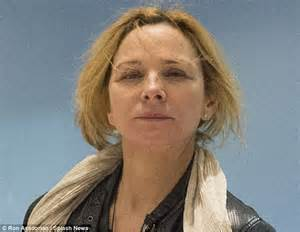 Designer Bed kim cattrall bravely ditches the make up as she arrives in