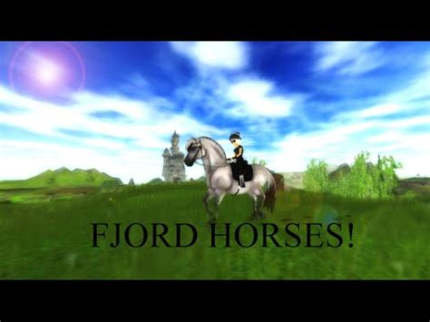 fjord horse star stable buying fjord horse on star stable online youtube