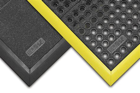 cushion ease static dissipative mat perforated