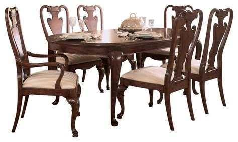 american drew cherry grove dining room american drew cherry grove 8 piece leg dining room set in