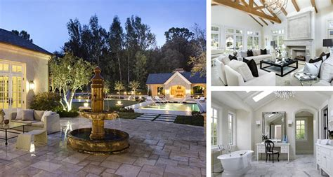 kim k house celeb digs kim kardashian and kanye west buy 20 million hidden hills mansion